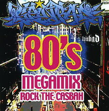 DJ SpinBad 80's MegaMix Rock the CasBah 2 CD Set Old School Pop (Mix CD) Mixtape