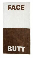 The Face/Butt Towel | 100% Cotton Beach or Bath Towel