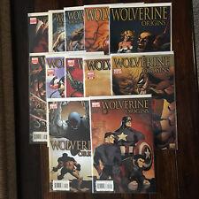 Marvel WOLVERINE ORIGINS (2006) 1 2 3 4 5 7 8 9 10 11 12 12 15 Variants DAKEN