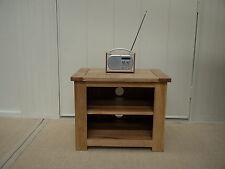 PEMBROKE CAMBRIDGE 100% SOLID OAK 65cm TV HIFI MEDIA UNIT