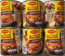 6 Dosen Maggi Ravioli in pikanter Sauce Fertiggericht 800g Dose