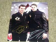 Nathan MacKinnon/Jonathan Drouin Autographed Team Canada 8X10 Photo   Proof