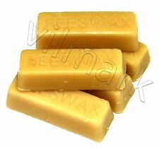 Beeswax 5 oz Filtered 100% Pure Yellow Premium Bees Wax Cosmetic Grade A 5 bars