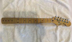 Fender Squier Strat Korean MIK Guitar Neck Maple Original Tuners 1989