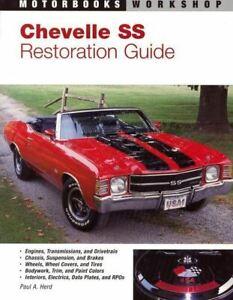 Chevrolet Chevelle Malibu Ss Restoration Manual Book How To Restore Guide 64-72