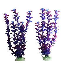 Decorazioni ornamenti viola per acquari