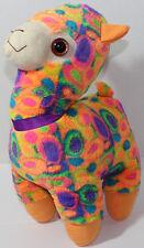 Good Stuff COLORFUL RAINBOW LLAMA Stuffed Plush Animal SOFT TOY Weird Cute