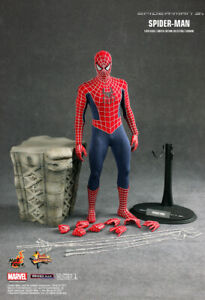 HOT TOYS 1/6 figure SPIDERMAN 3 RED SUIT VERSION MMS143  LIMITED EDITION NEW