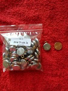 100 PCS COIN RIVER FISHING SINKER 1-1//2 OZ.
