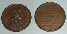 Bronze Medal France Ludovicus XVI Rex christianissimus 1775 (da4193)