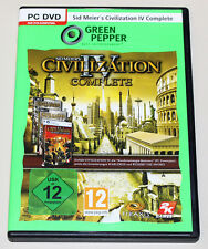 CIVILIZATION IV - COMPLETE - WARLORDS BEYOND THE SWORD - PC DVD GREEN PEPPER