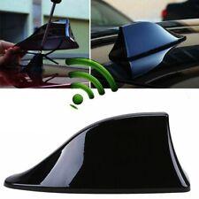 Universal Car Auto Shark Fin Roof Antenna Radio FM AM Decorate Aerial Black