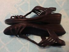Easy Street BLACK SANDALS WOMEN'S SIZE 7 M