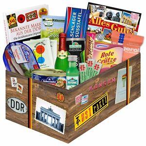 Geschenkbox mit DDR Süßigkeiten - Ostalgie Geschenk 2932