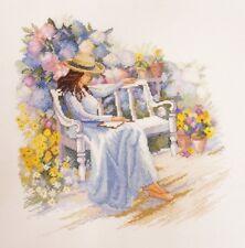 """Kit Punto De Cruz Marya iskusnitsa (María Weaver) 08.004.02 - """"Jardín de flores"""""""
