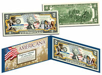 WIZARD OF OZ *Americana* Genuine Legal Tender Colorized Licensed U.S. $2 Bill