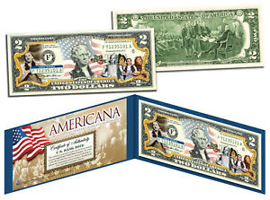 WIZARD OF OZ *Americana* Genuine Legal Tender Colorized Licensed U.S. $2 Bill