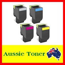 4x Toner Cartridge for Lexmark CS310 CS310DN CS410 CS410DN CS510 708HK/C/M/Y