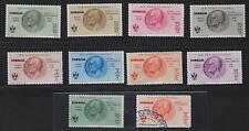 ITALY SOMALIA 1934 AIR POST SEMI POSTAL Sc CB1 CB10 LESS CB7 +CB5 CAT VAL $235 H