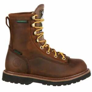 Georgia Boots 6 Inch Insulated Soft Toe Work   -  Kids Boys  Work Safety Shoes