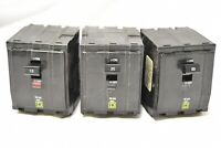 Square D  Breaker Lot (3)   15A, 20A, 30A 240v 3 POLE , PLUG IN