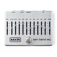 MXR M108S TEN 10 BAND EQ Effect Pedal Graphic equalizer