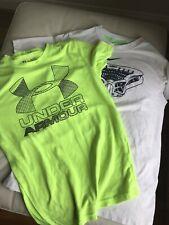Two Nike & Under Armour BoysT-Shirts - Size Large