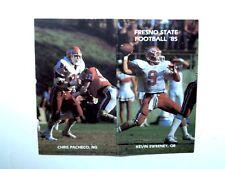 Football Pocket Dallas Cowboys Vintage Sports Schedules Ebay