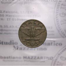 5 Centesimi 1943 XXI Impero (Regno Italia VE III) Conio Evanesc qFDC LOT1589