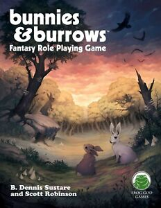 NEW Frog God Games Bunnies and Burrows BUNDLE WITH 4 EXTRA ADVENTURES D&D