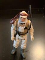 Vintage LUKE SKYWALKER (Hoth) Star Wars Action Figure 1980 Hong Kong - COMPLETE