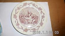 ANCIENNE ASSIETTE  -un mariage à la campagne - le banquet