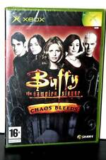 BUFFY THE VAMPIRE SLAYER CHAOS BLEEDS NUOVO XBOX EDIZIONE ITALIANA PAL FR1 31475