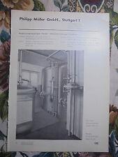 Reklame 185 / Abwasser Kirchner Mannheim / Müller Stuttgart Abwasser