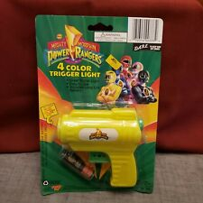 1993 Power Rangers 4 Color Trigger Light - New in Package