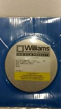 Williams Advanced Materials Stainless Steel 304 Sputter Target