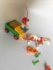 Playmobil 3713 Pony Ranch Wagon Hay Sand Toys Children