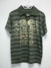 Eddie Tigger Herren T-Shirt Poloshirt grün Gold Gr.L NEU (Z20)