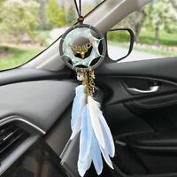 New Dream Catcher Car Mirror Pendant Interior Decor Accessories Hanging Ornament