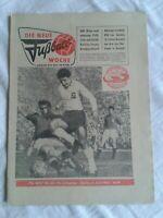 Die Neue Fußball-Woche, Nr. 23, 14. Jahrgang, DDR-Zeitung 1962, Fu-Wo