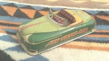 Cragstan New Drive Car #2 -Convertible Friction tin car Vintage c 1940's Japan