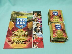 Panini Fifa 365 2020 Album + 100 Tüten / 500 Sticker Internationale Edition