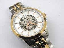 Men's GB05034/06 Rotary Vintage Mecanique Skeleton Automatic Watch - 100m
