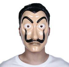 Salvador Dali La Casa De Papel Dinero Heist Máscara Disfraz - Vendedor GB