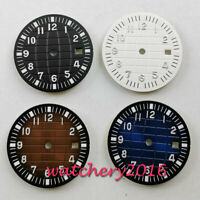 31.5mm Watch sterile Dial fit 2836 2824 2813 3804 Miyota 82 Series movement
