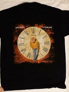 """Dwight Yoakum """"Very Rare"""" 1993 This Time Unused Unworn Black T Shirt"""