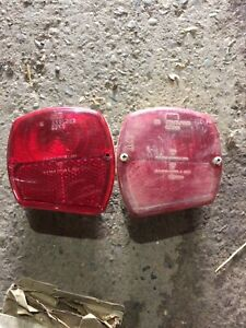 Pair Of Ford 3000,4000,5000 Genuine Rear Lights Tractor Barn Find See Descriptio