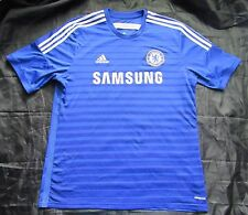 CHELSEA LONDON home shirt jersey ADIDAS 2014-2015 /The Blues adult SIZE XL
