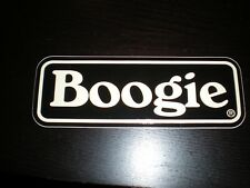 MESA BOOGIE GUITAR AMP BOOGIE DECAL STICKER CASE RACK BUMPER STICKER