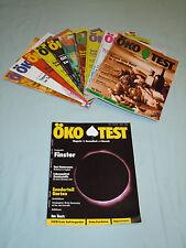 Öko Test Jahrgang 1994 Hefte Nr. 2-12 insgesamt 11 Hefte